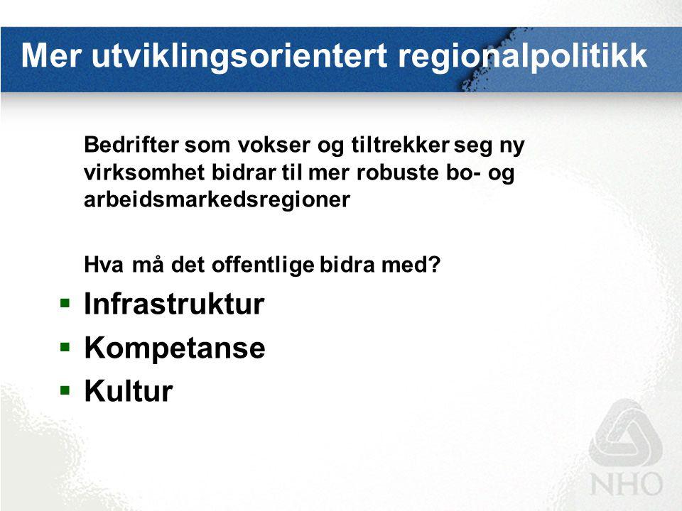 Strategiske utfordringer møtes i nord: Petroleumsressurser Fiskeri Havbruk EUs Nordlige Dimensjon Næringssamarbeid med Russland Østersjø- samarbeidet Miljø Regional utvikling Arktisk forskning Sikkerhetspolitikk