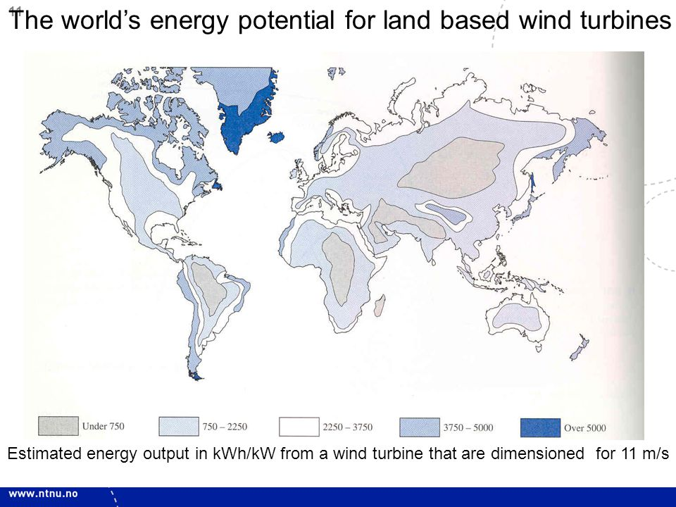 12 Global Installed wind power