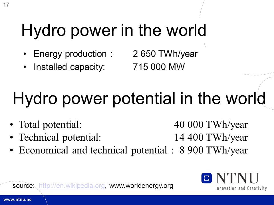 18 Wave power potential The numbers denotes power per meter wave front [kW/m] 70 30 40 30 60 40 50 40 20 60 50 22 40 15 20 24 40 50 74 30 50 100 92 82 19 12 21 23 12 18 17 34 66 34 14 8 8 27 84 37 9 10 20 48 81 30 11 100 67 13 11 3 41 72 50 49 89 26 17 15 17 25 24 33 29 97 72 42 16 11 13 12 102 68 53 13 10 14 12 18 19 10 24 43 20 43 41 33