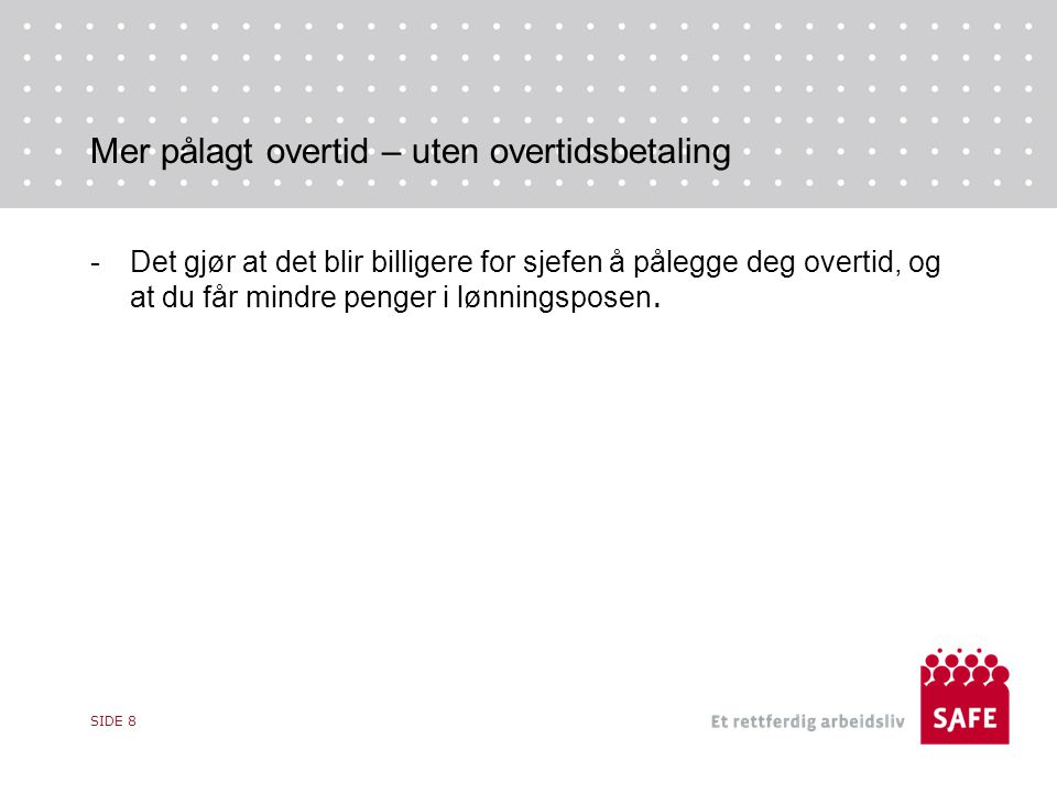 Kollektiv søksmålsrett – forsvinner -I 2013 ved innføringen av Virkarbyrådirektivet så fikk fagforeningene en kollektiv søksmålsrett jf.
