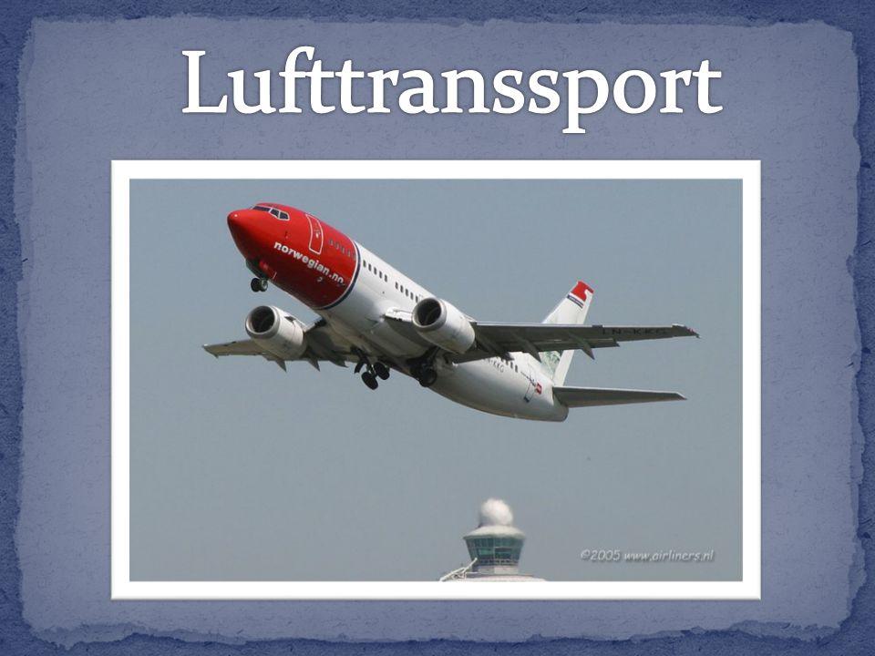 Luftfart er en viktig del av transporttilbudet i Norge.