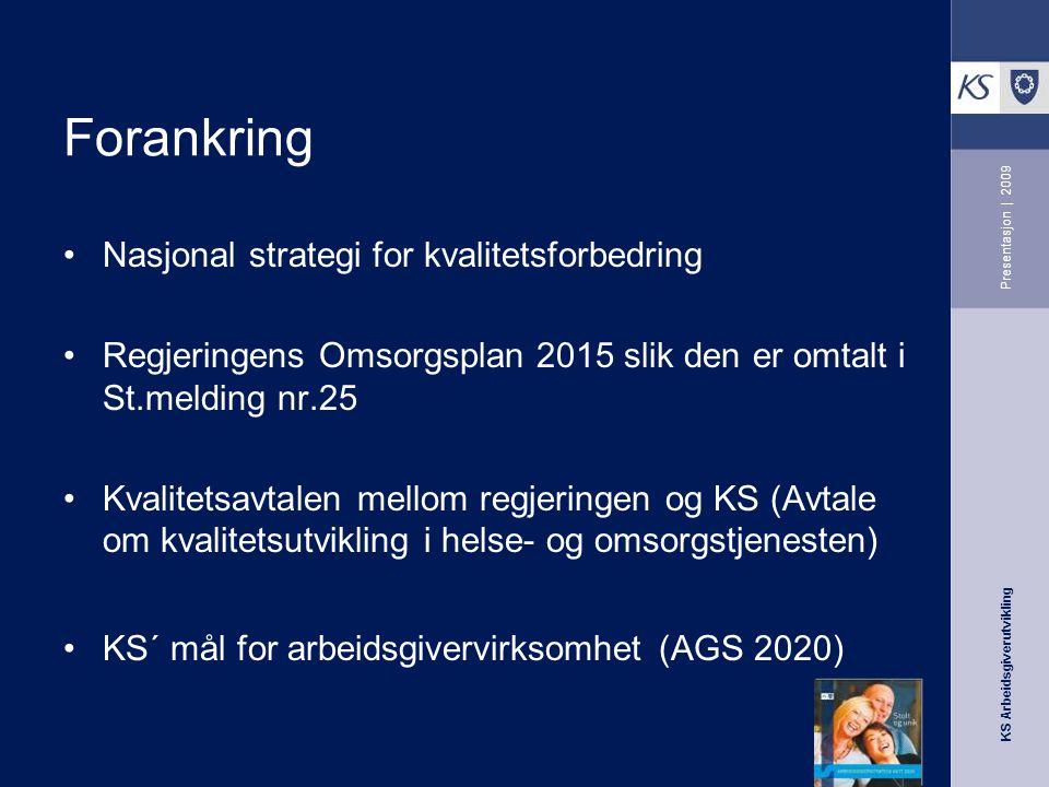 KS Arbeidsgiverutvikling Presentasjon | 2009 Ser dere gorillaen…?