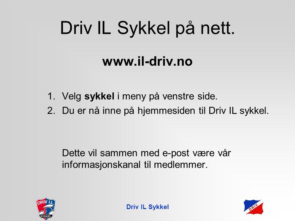 Driv IL Sykkel Prøving av drakter Prøv drakter, noter artikkelnummer og bestill hjemme.