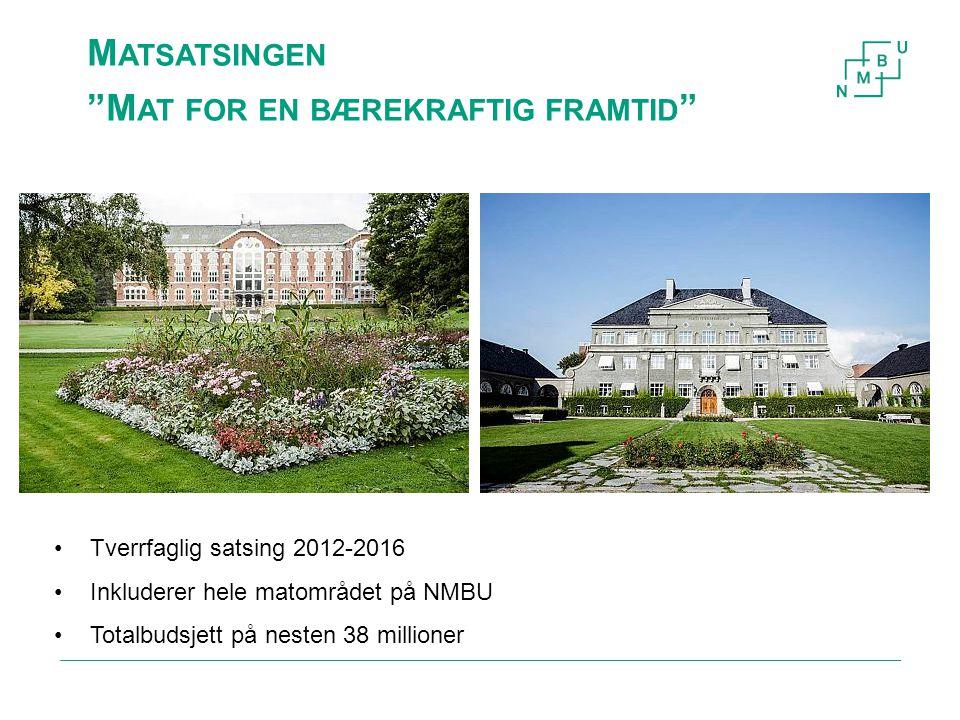 Styringsgruppen til Matsatsingen Norges miljø- og biovitenskapelige universitet3