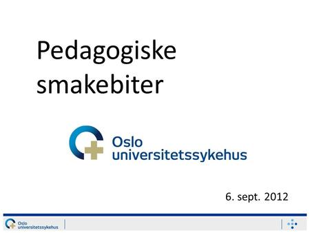 Pedagogiske smakebiter 6. sept. 2012. Sitat: According to most studies, people`s number one fear is public speaking. Number two is death. Death i number.