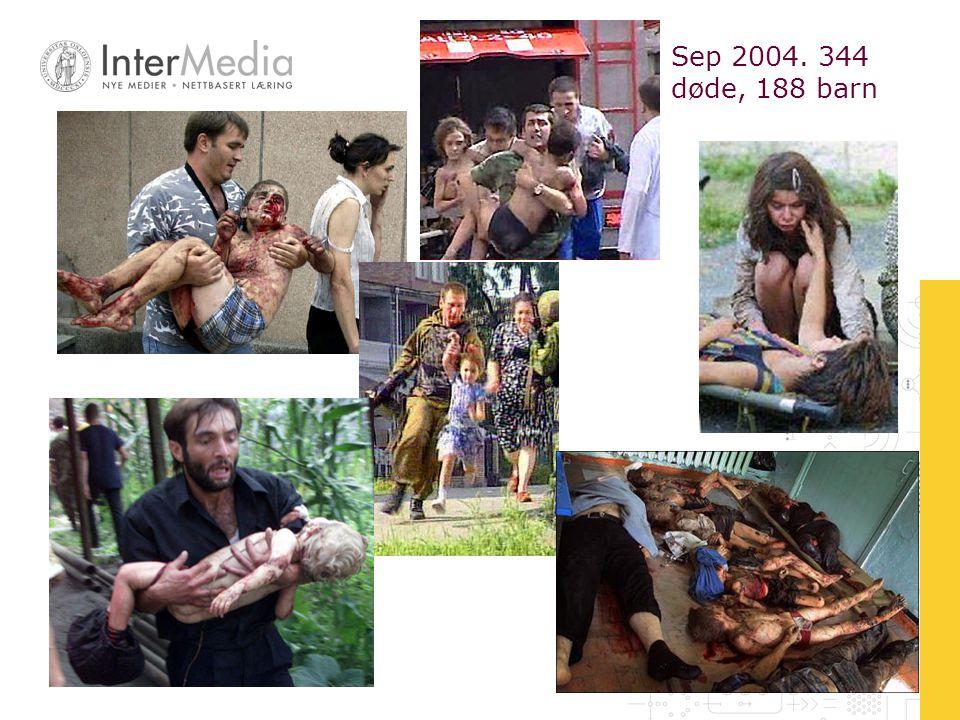 Case #1: Tverrfaglig arbeid.Emne: Tsjetsjenia – terror/frigjøring.