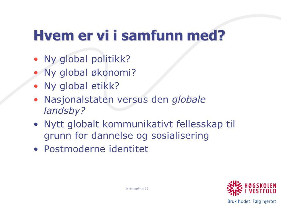 Mattias Øhra 07 Viktig distinksjon mellom utdanning og kvalifikasjon: Begreppet utbildning måste skiljas från kvalifikation.