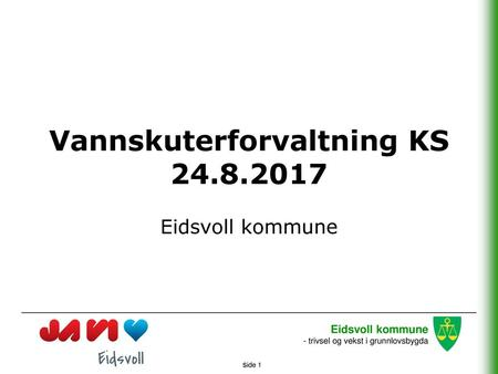 Vannskuterforvaltning KS