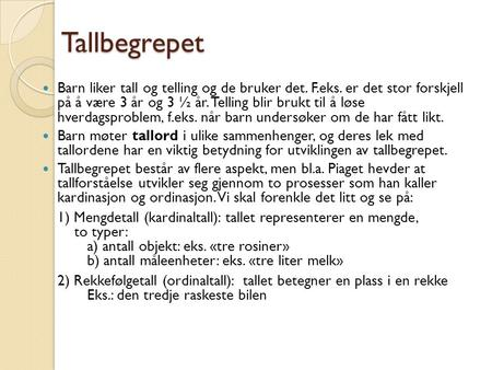 Tom Rune Kongelf Tallbegrepet