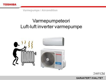 Strømtilkobling varmepumpe