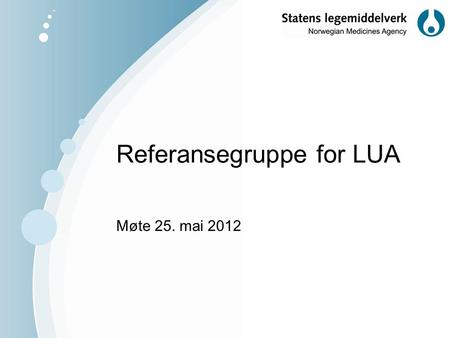 Referansegruppe for LUA
