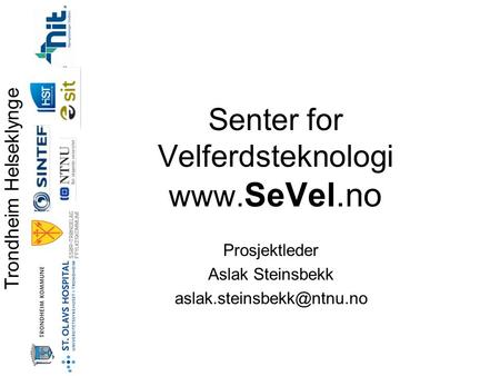 Senter for Velferdsteknologi
