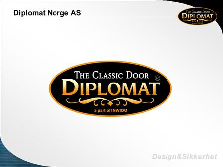 Diplomat Norge AS.