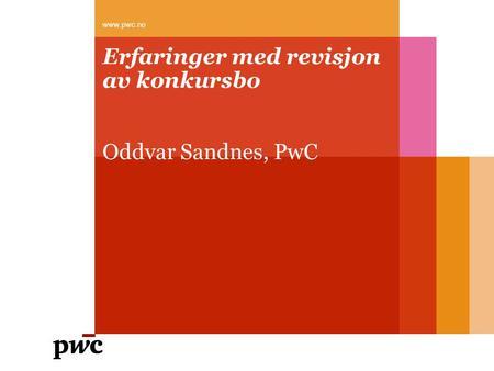 presentasjon Sandnes