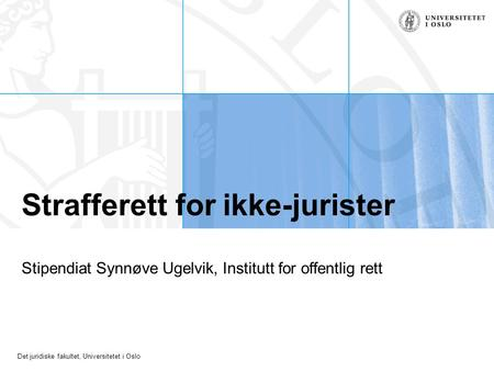 Strafferett for ikke-jurister