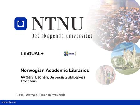 Norwegian Academic Libraries