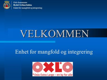 Enhet for mangfold og integrering