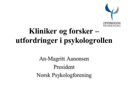 forhandlingsavdelingen norsk psykologforening