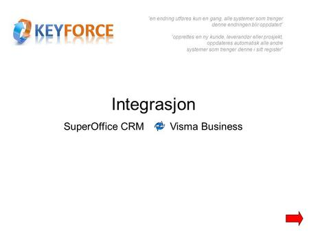 SuperOffice CRM Visma Business