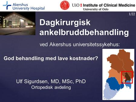 Ulf Sigurdsen, MD, MSc, PhD