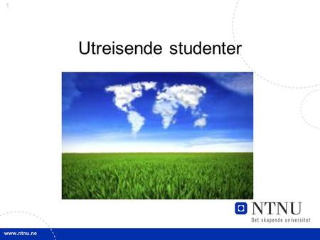 Utreisende studenter.