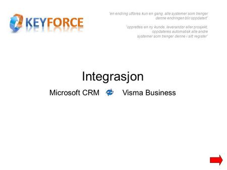 Microsoft CRM Visma Business