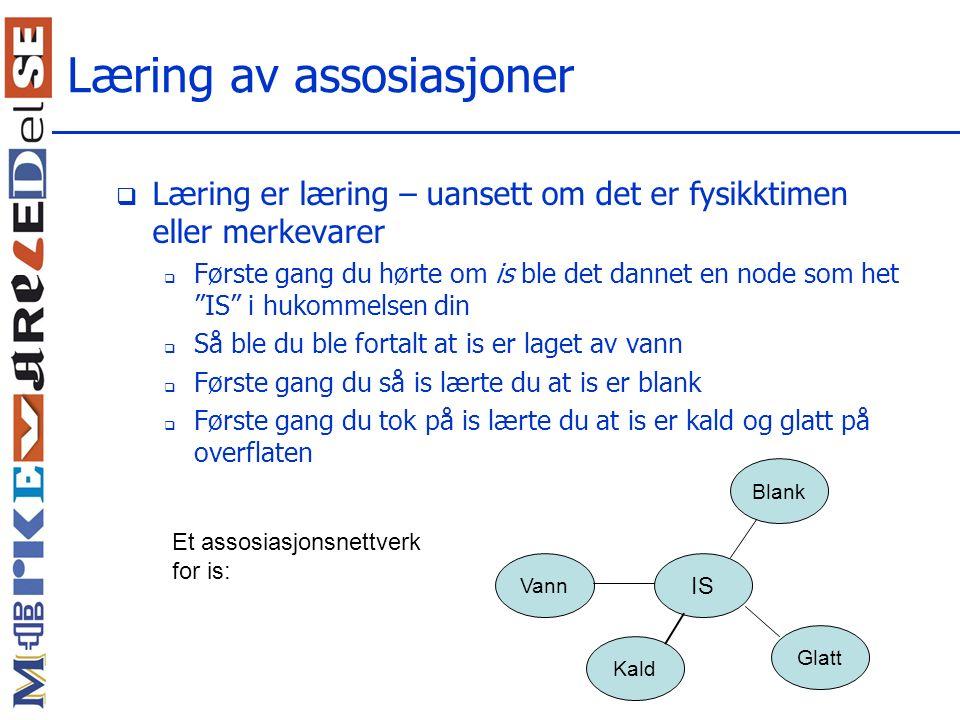 Læring av assosiasjoner