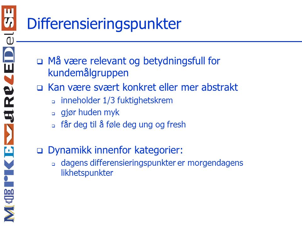 Differensieringspunkter