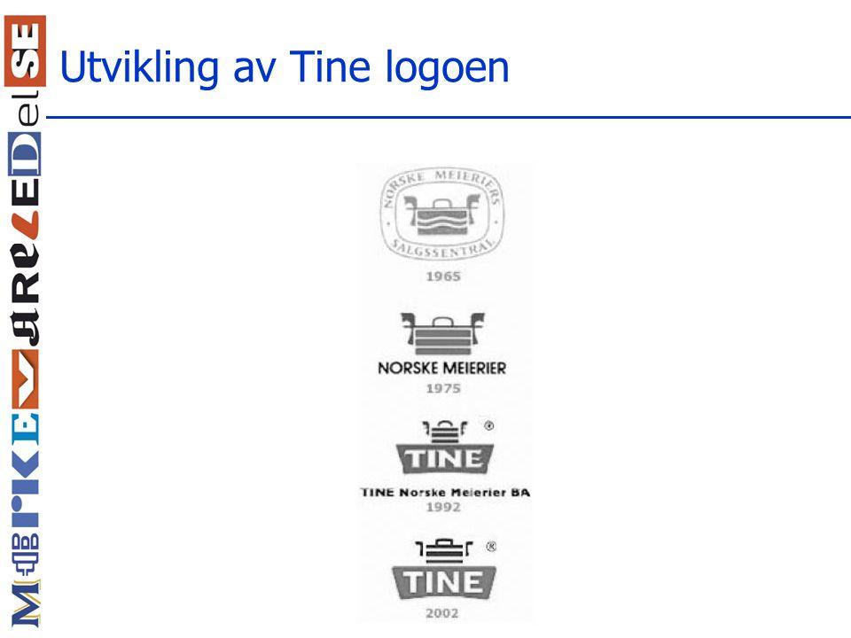 Utvikling av Tine logoen