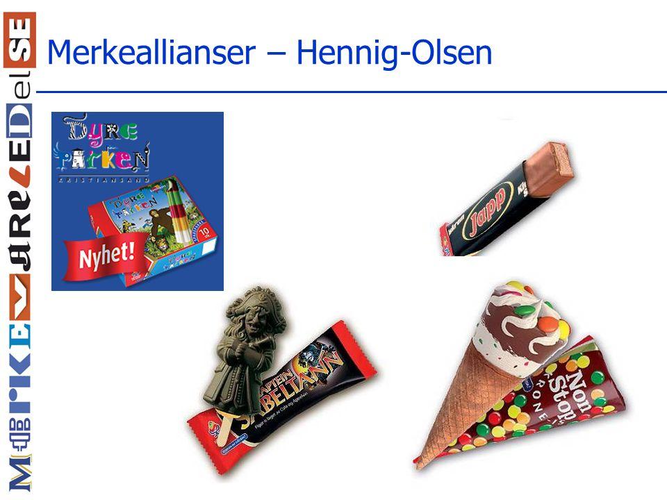 Merkeallianser – Hennig-Olsen