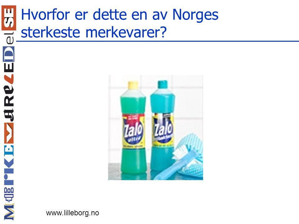 Hvorfor er dette en av Norges sterkeste merkevarer