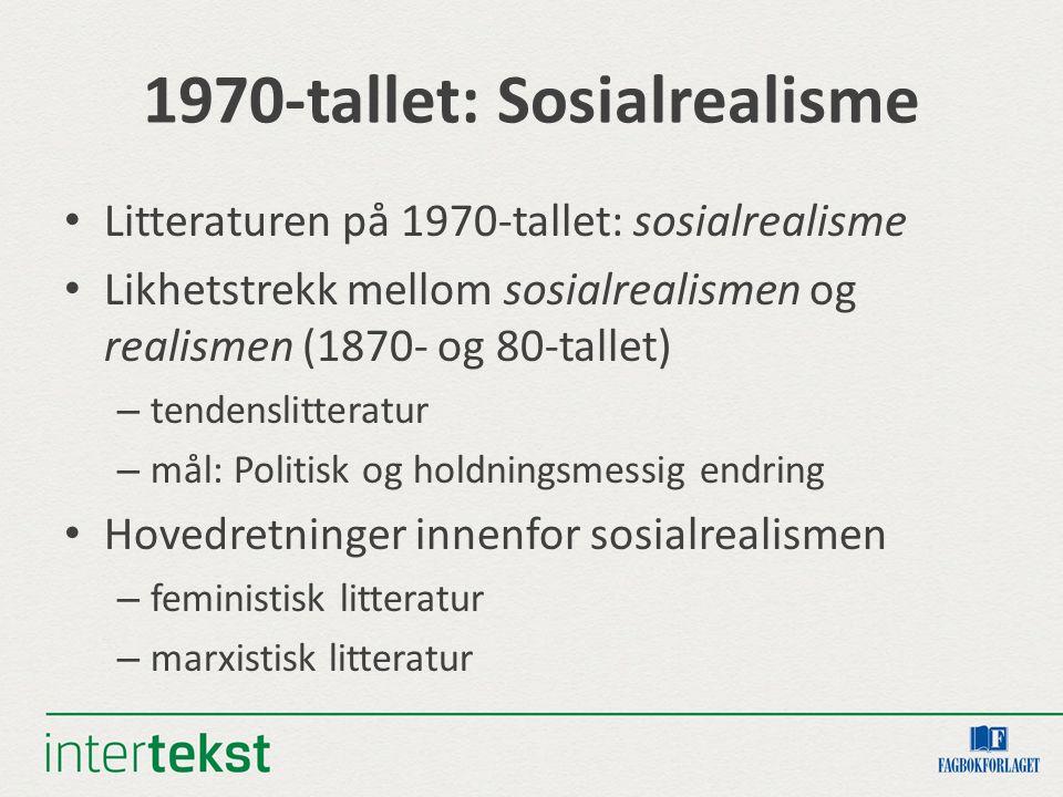 1970-tallet: Sosialrealisme