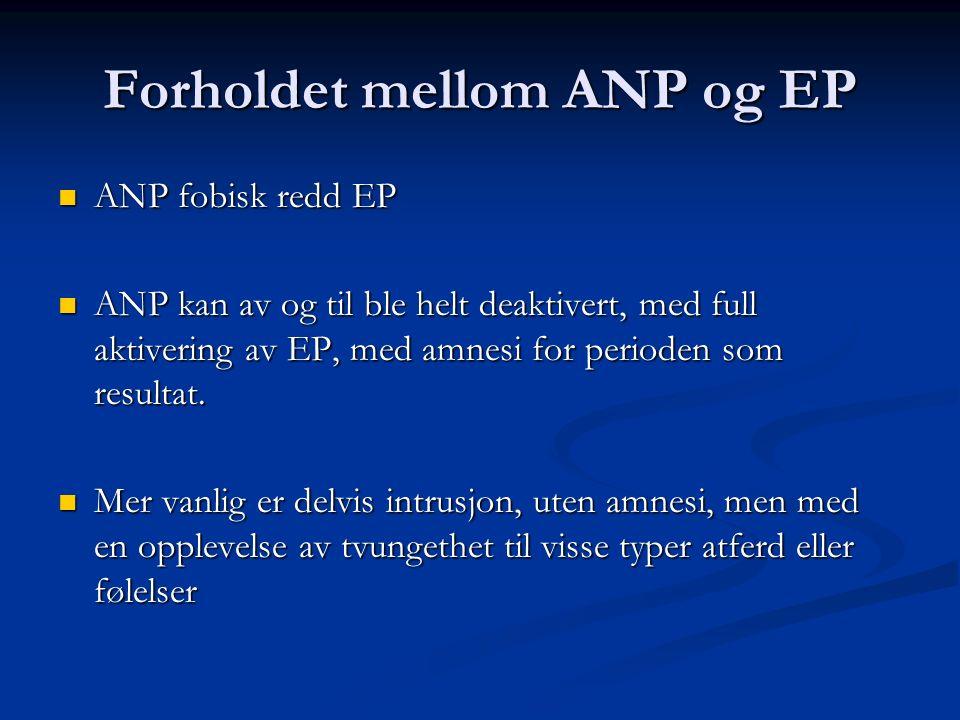 Forholdet mellom ANP og EP