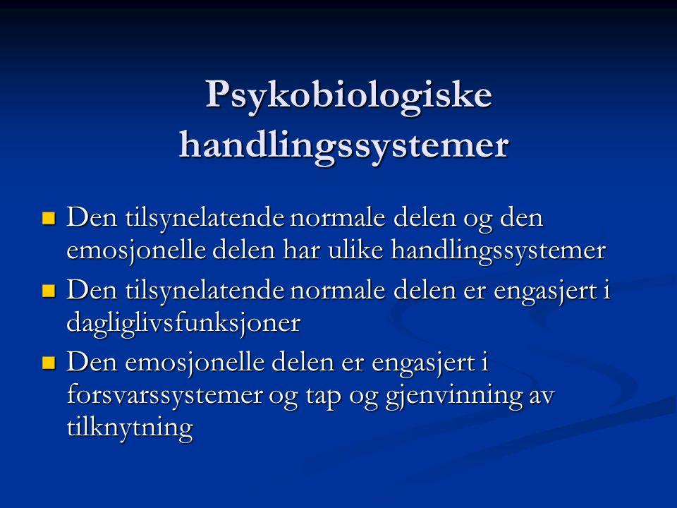 Psykobiologiske handlingssystemer