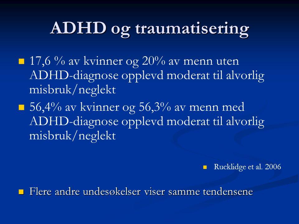 ADHD og traumatisering