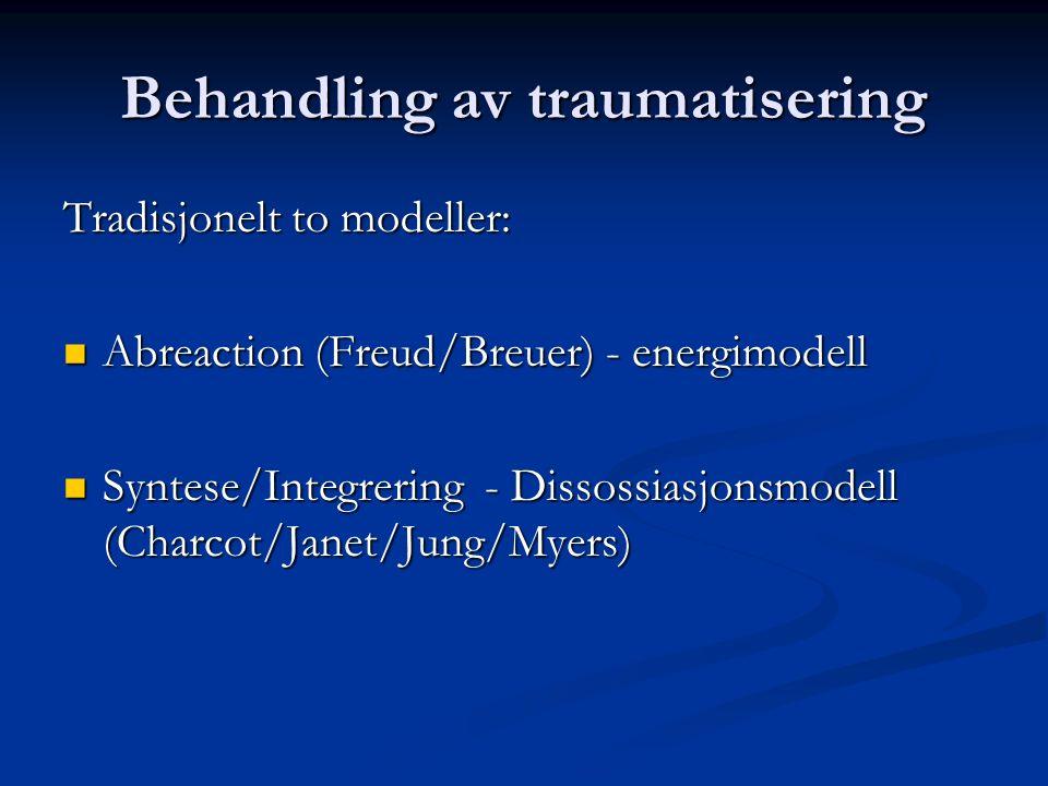 Behandling av traumatisering