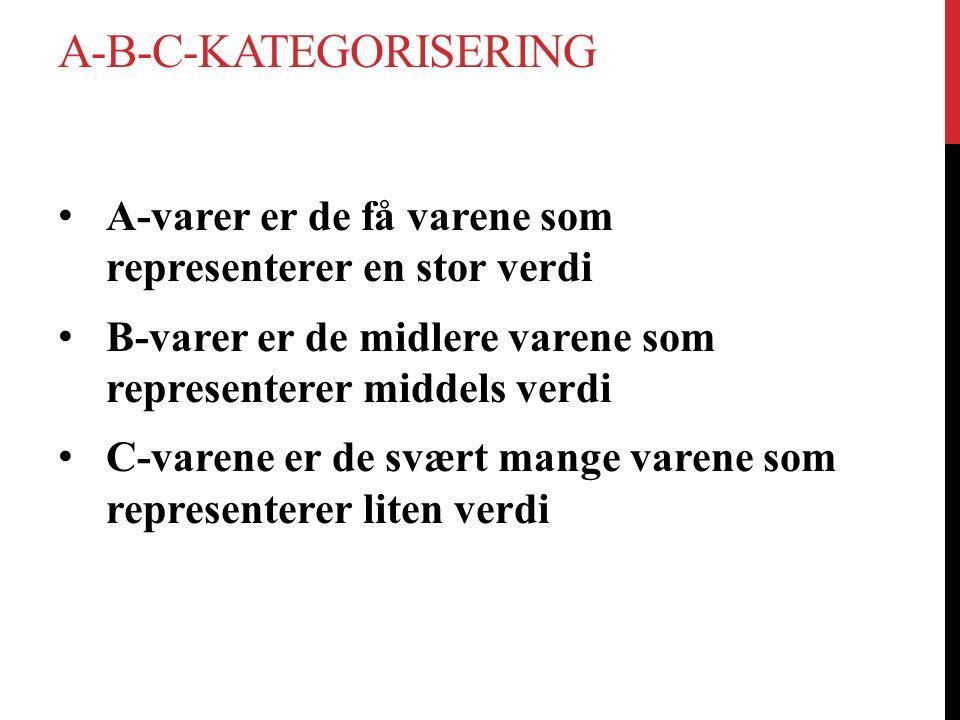 A-B-C-kategorisering