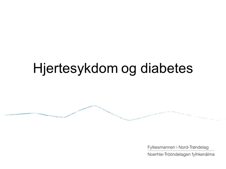 Hjertesykdom og diabetes
