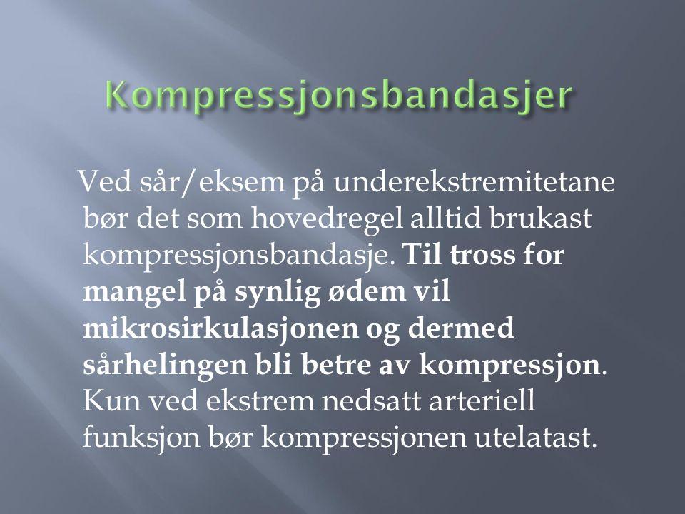 Kompressjonsbandasjer