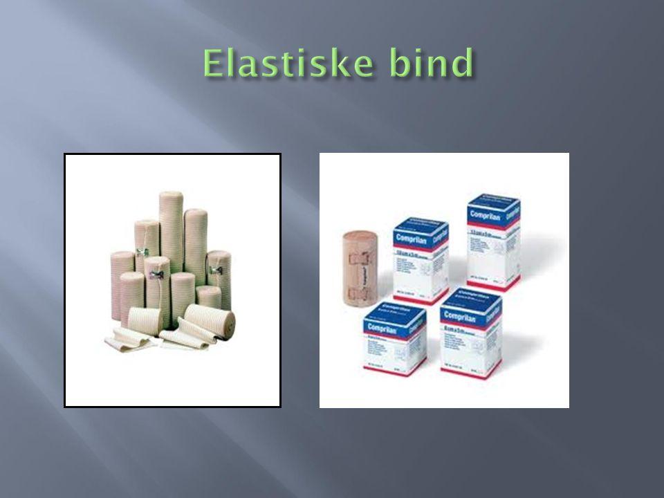 Elastiske bind