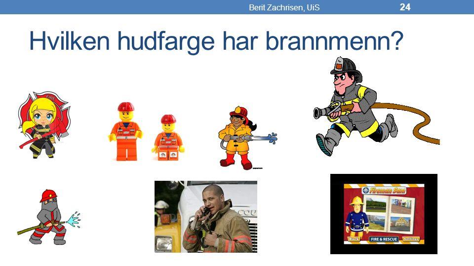 Hvilken hudfarge har brannmenn