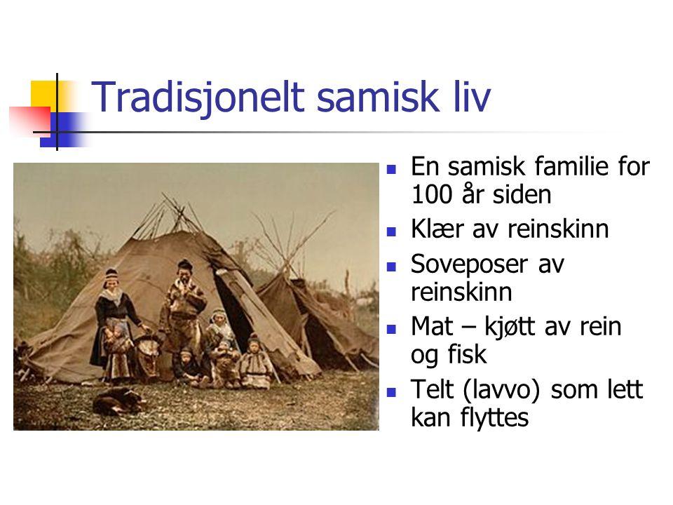 Tradisjonelt samisk liv