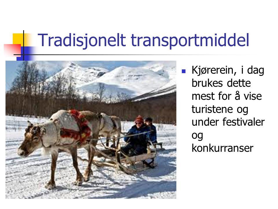 Tradisjonelt transportmiddel