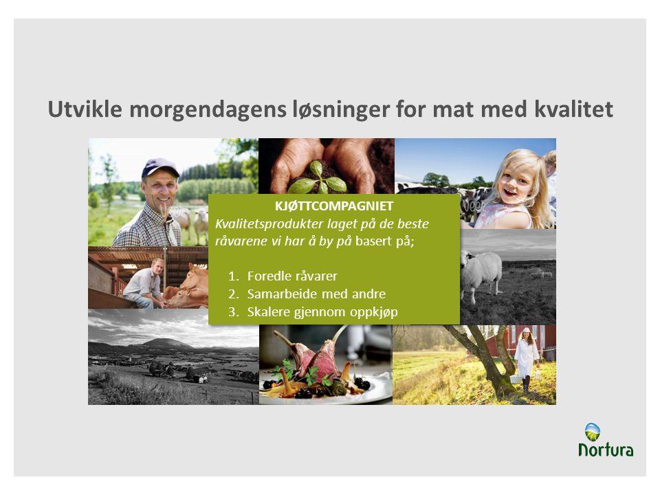 Utvikle morgendagens løsninger for mat med kvalitet