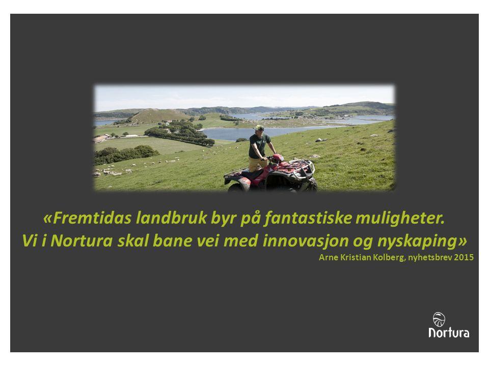 «Fremtidas landbruk byr på fantastiske muligheter.
