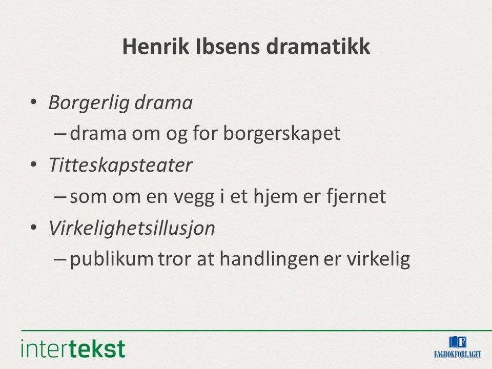Henrik Ibsens dramatikk