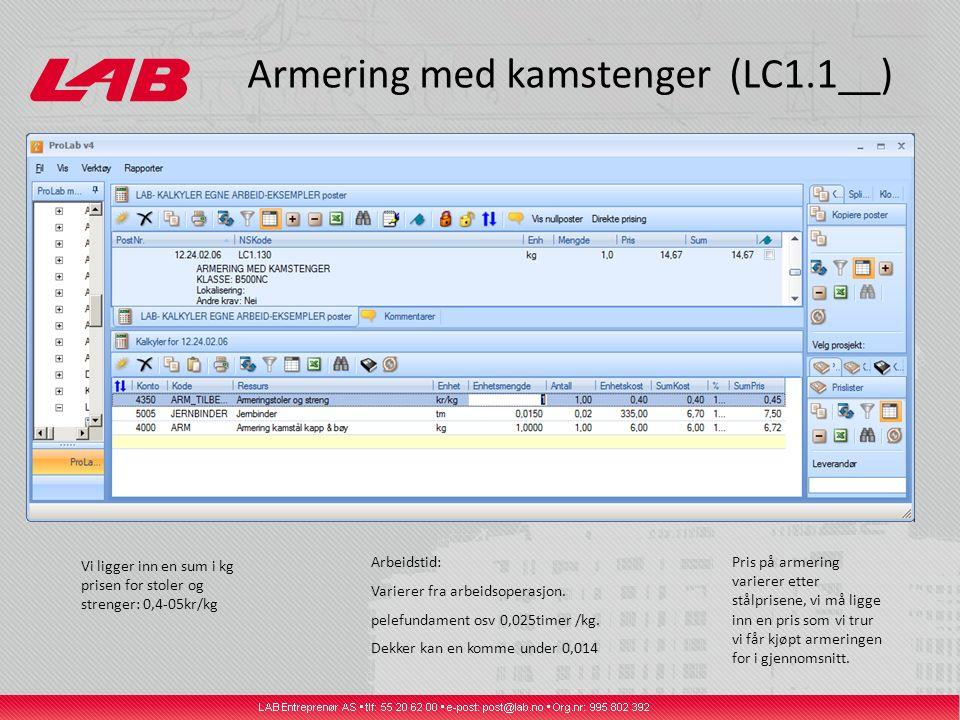 Armering med kamstenger (LC1.1__)