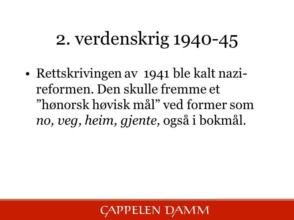 2. verdenskrig 1940-45