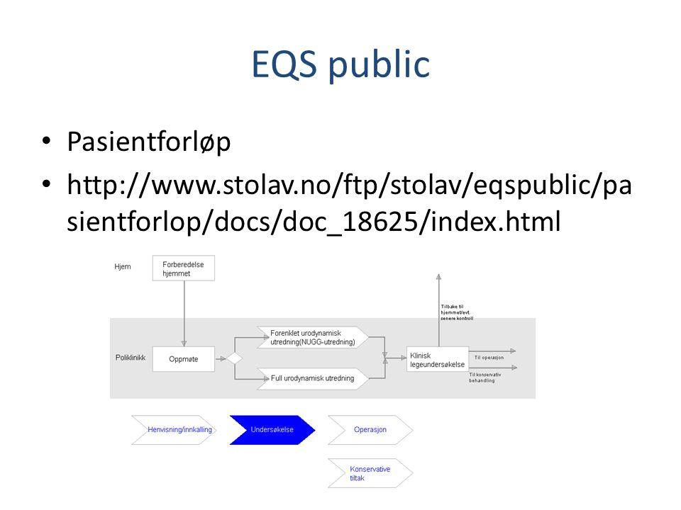 EQS public Pasientforløp