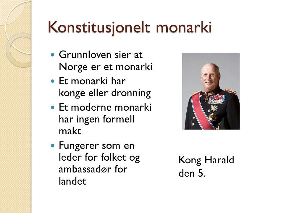 Konstitusjonelt monarki